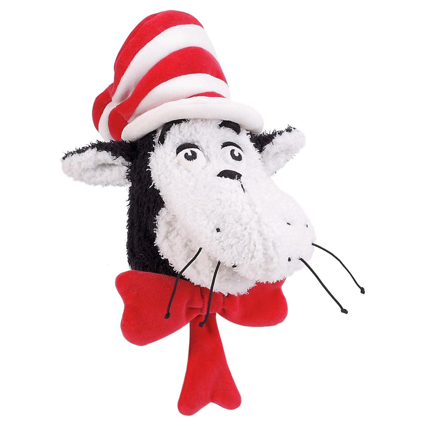 Dr. Seuss THE CAT IN THE HAT Hand Puppet - Manhattan Toy