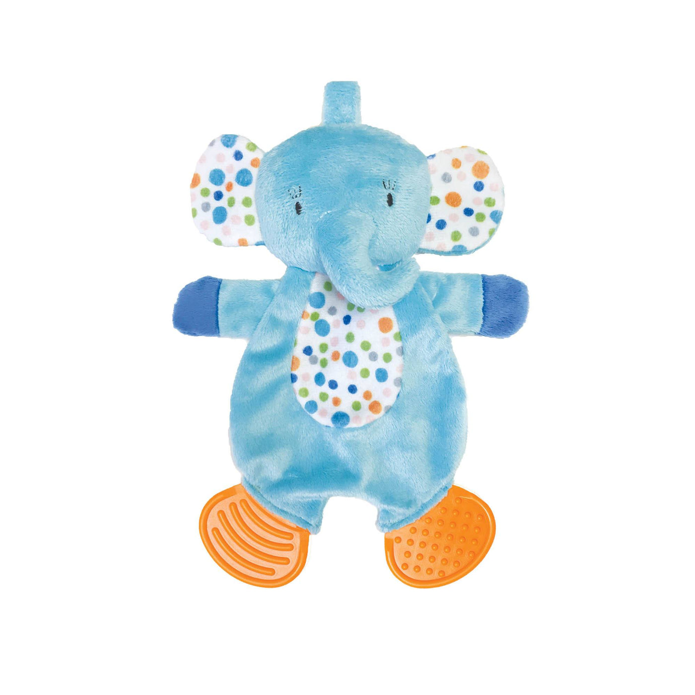 Teether Elephant Snuggle Blankie - Manhattan Toy