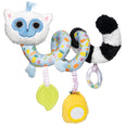 Fruity Paws Spiral Animal Lemur - Manhattan Toy