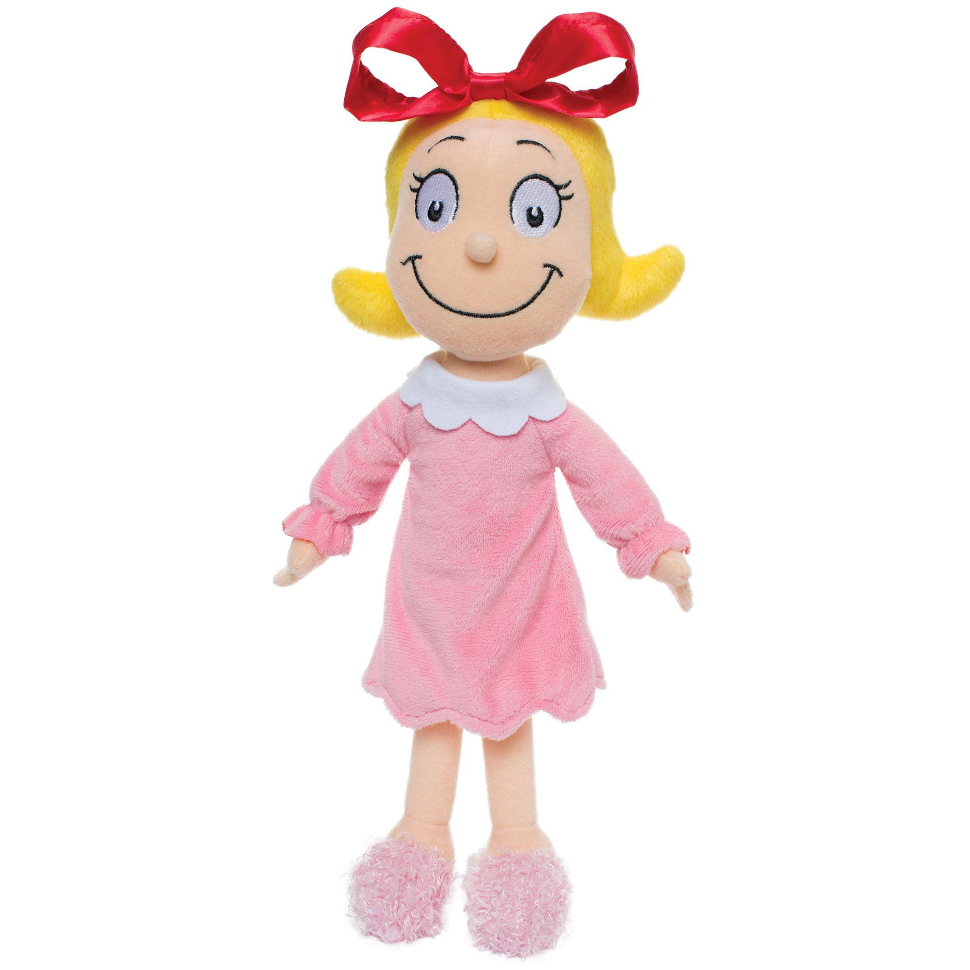 Dr Seuss Cindy Lou Who Plush Toy Small By Manhattan Toy