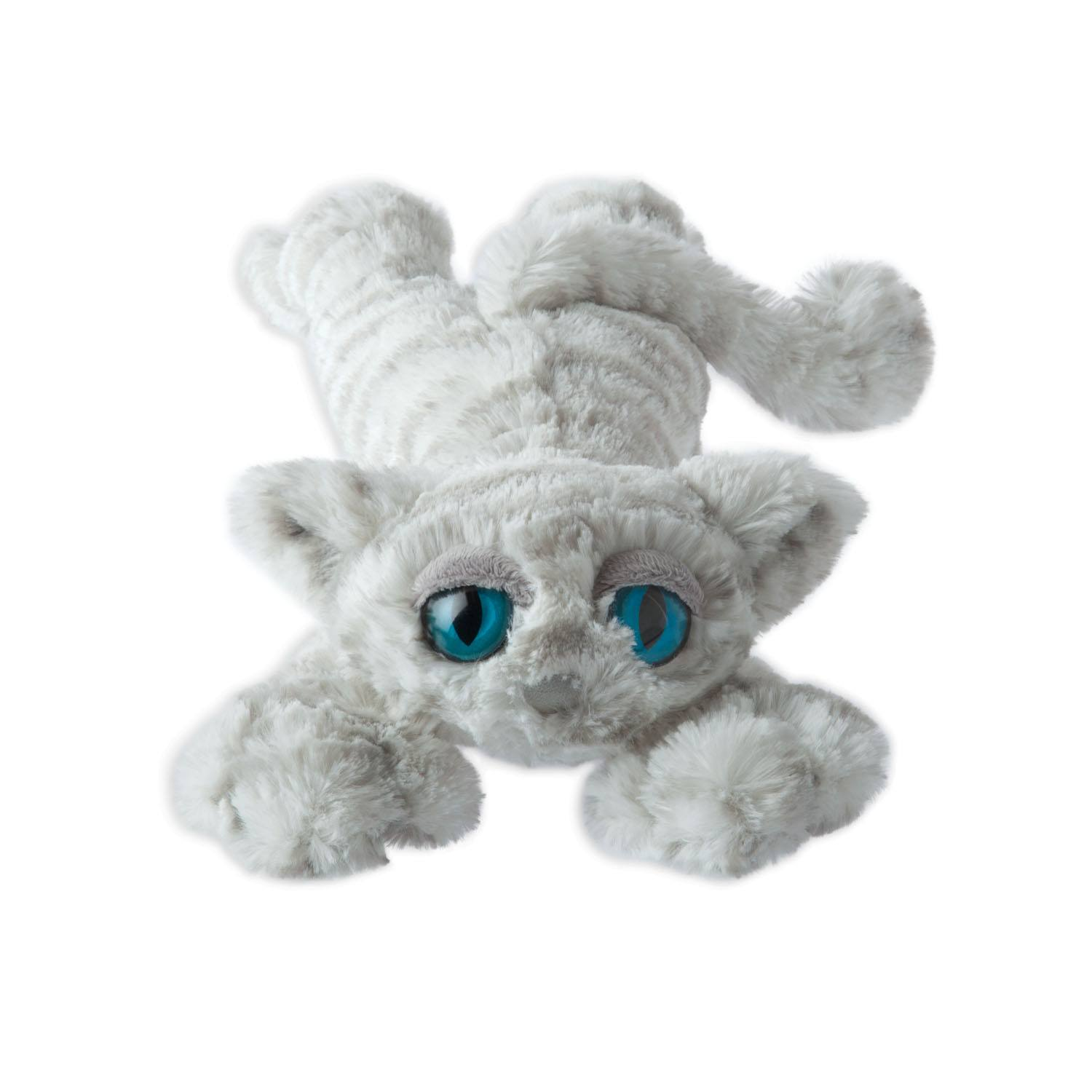 Stuffed Animal Lavish Lanky Cat Snow By Manhattan Toy
