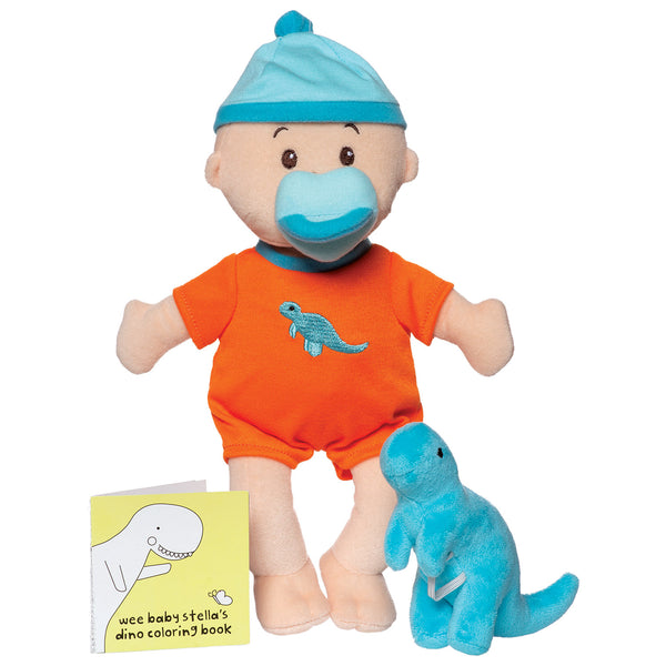 Wee Baby Stella Tiny Dino Set - Manhattan Toy