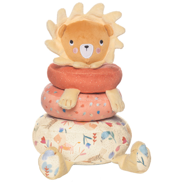 Safari Lion Plush Stacker