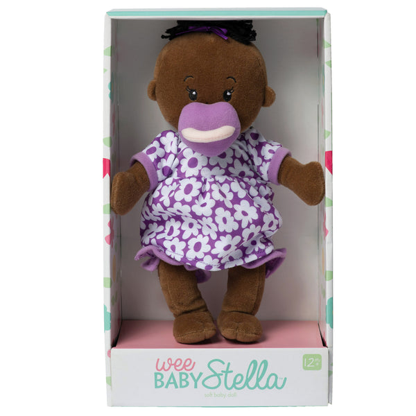Wee Baby Stella Doll Brown