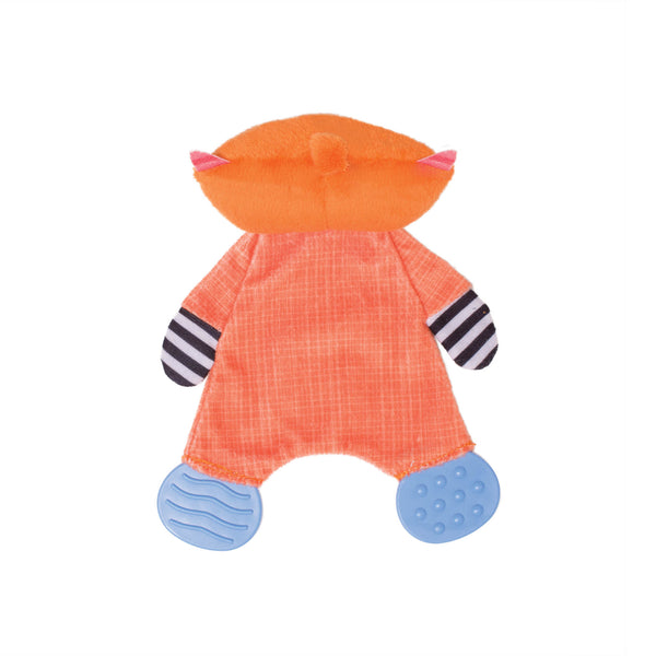 Teether Fox Snuggle Blankie