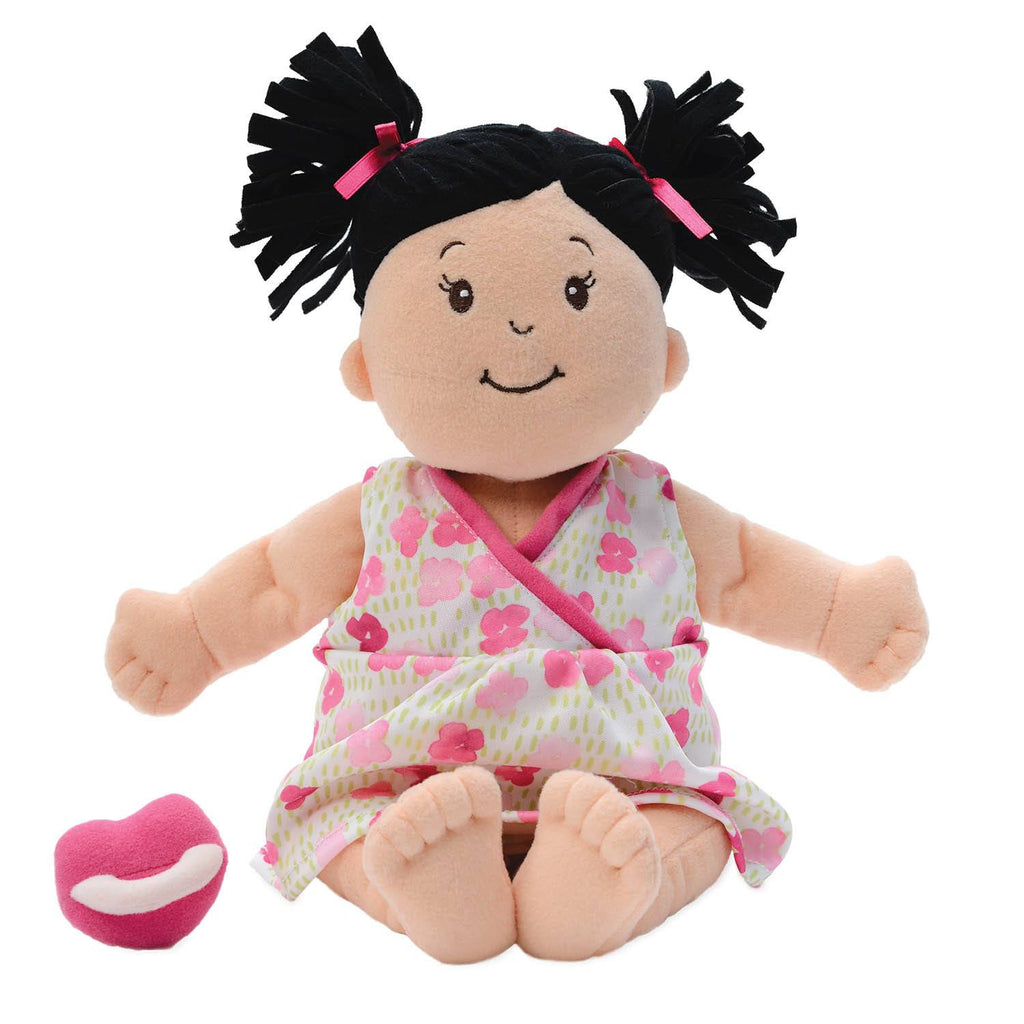Baby Doll Baby Stella Brunette Nurturing Soft Doll By
