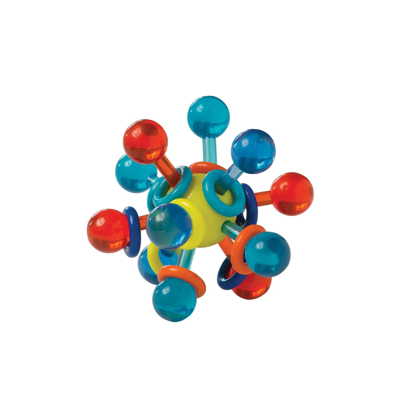Transparent Atom Teether Rattle Unboxed