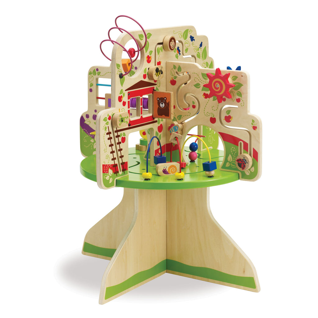 Wood Tree Top Activity Toy For 1 Year Olds Manhattan Toy