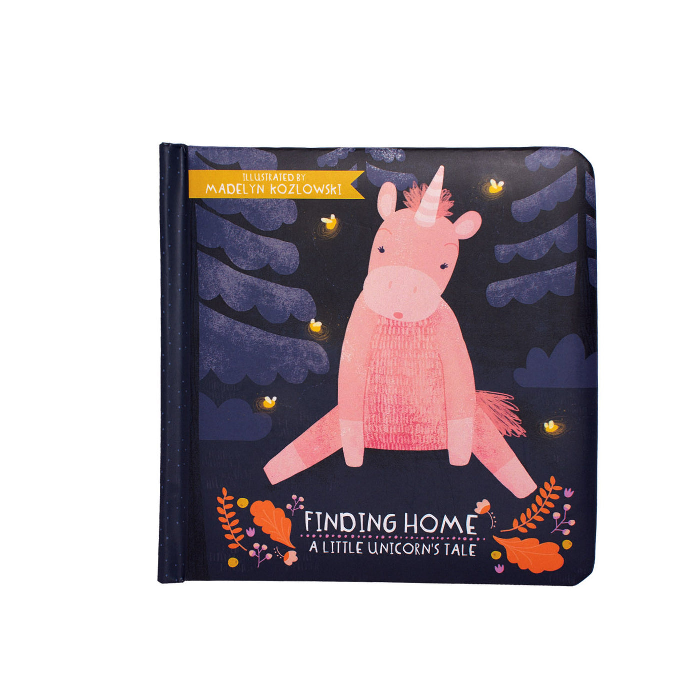 Finding Home - A Little Unicorns Tale Board Book - Manhattan Toy