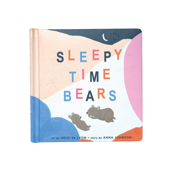 Sleepy Time Bears Book - Manhattan Toy