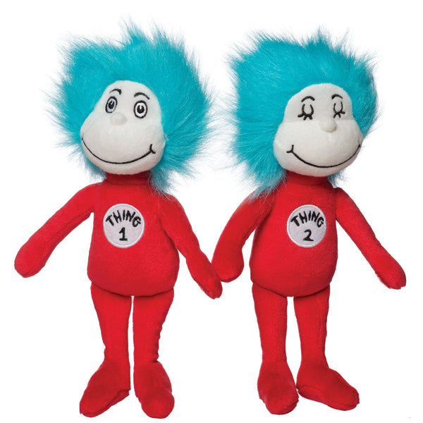 Dr. Seuss Thing 1 & Thing 2 Set - Manhattan Toy