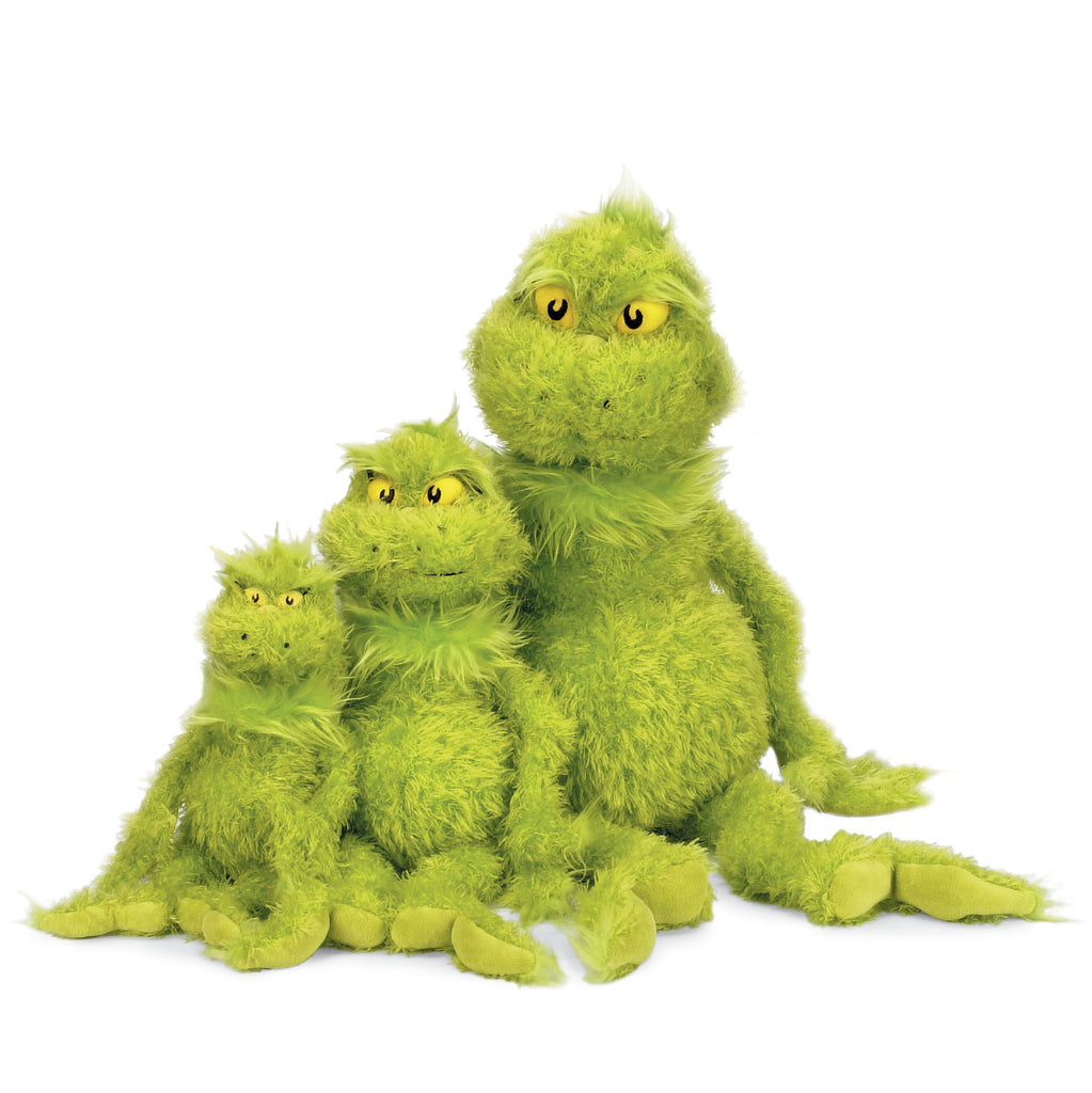 Dr Seuss The Grinch Plush Toy Small By Manhattan Toy