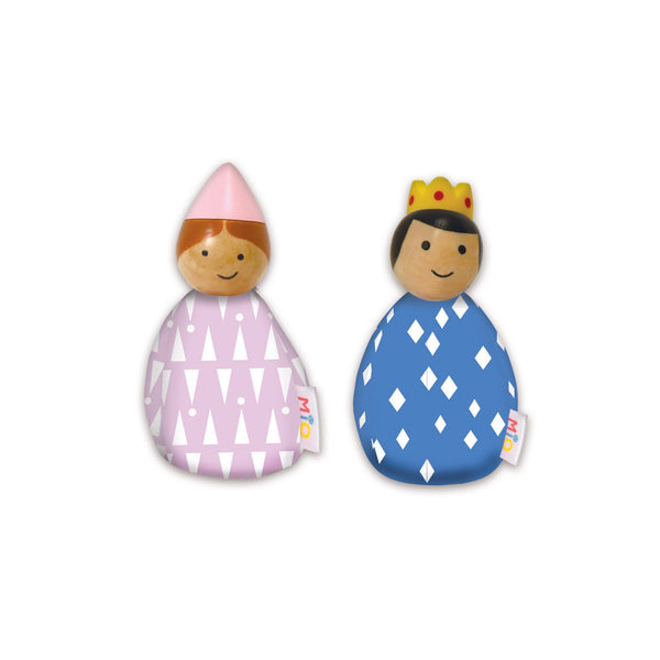 MiO 2 Royal People Bean-bag Doll Set