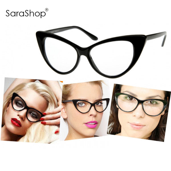 Chic Cat Eye Sexy Glasses & Sunglasses For Women