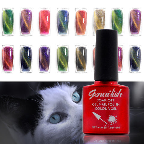 10ml Magnetic Cat Eye Nail Gel Polish