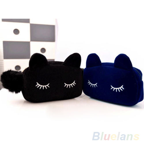 Cartoon Cat Makeup Bag