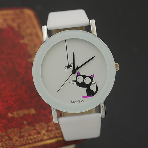 2016 Funny Cute Cat Fashion Watch For Women