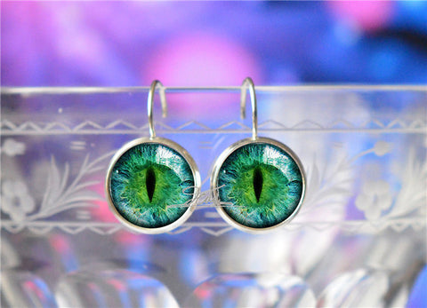 Beautiful Cat Eye | Dragon Eye | Galaxy Stud Earrings For Women