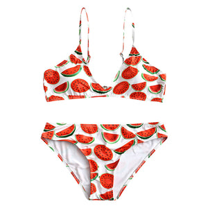Women's Watermelon Low-Cut Bikini