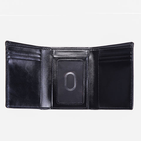 Doshi Vegan-Leather Trifold Wallet