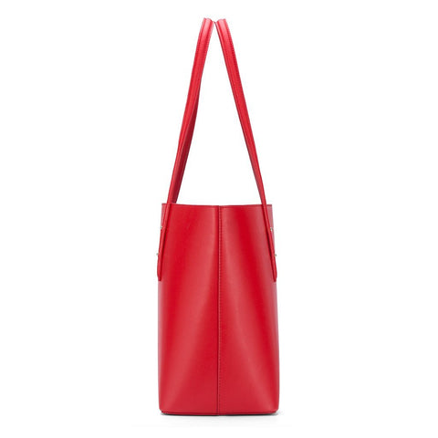 Image of Vegan-Leather Casual Tote Bag