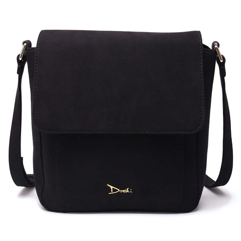 Image of Doshi Vegan-Leather Portrait Suede Bag