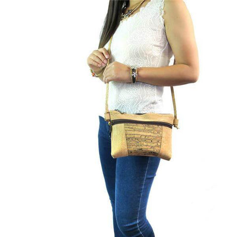 Image of Handmade Natural Cork Vintage-style Purse - Shop your favorite Cruelty-Free Bags & Purses from www.AllVeganWorld.com | All Vegan World | +1-855-YA-VEGAN