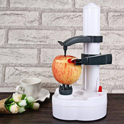 Automatic Fruit & Veggie Peeler - Shop your favorite Kitchen Gadgets from www.AllVeganWorld.com | All Vegan World | +1-855-YA-VEGAN