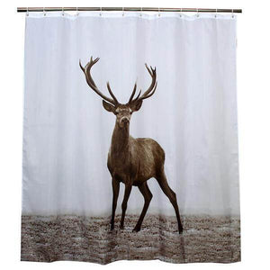 Eco-Friendly Deer Shower Curtain