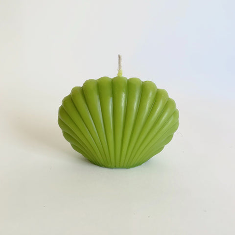 Shell Candle - Green