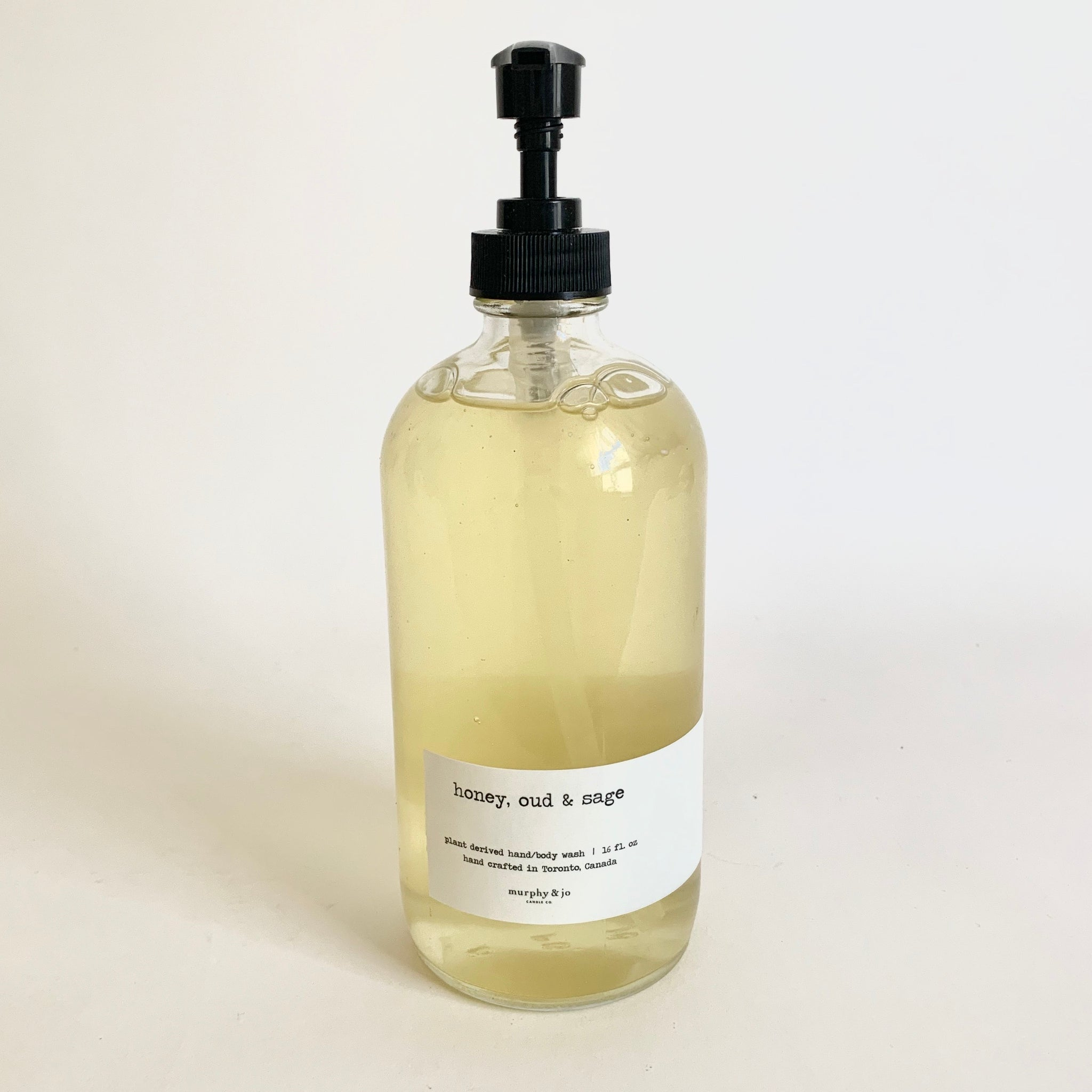 Handsoap 16oz. - Honey, Oud & Sage