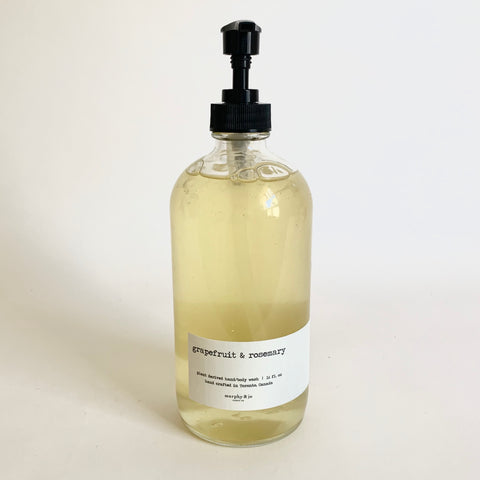 Handsoap 16oz. - Grapefruit & Rosemary