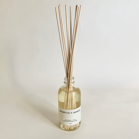 Reed Diffuser 4oz. - Grapefruit & Rosemary