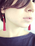 Shaka Knot Earrings in Six Different Colors