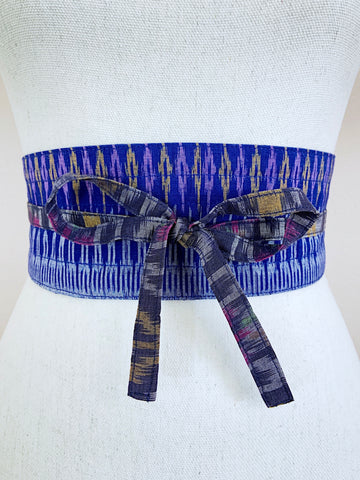 Upcycled Obi Wrap Belt
