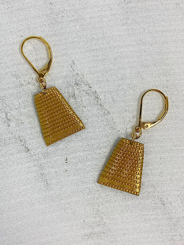 Mat Earrings