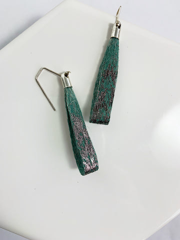 Linen Stick Earrings