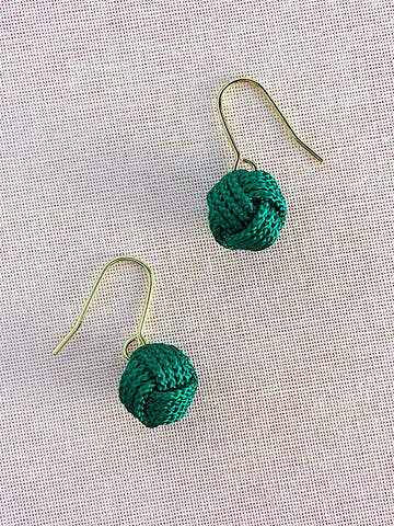 Musubidama Knot Small Earrings