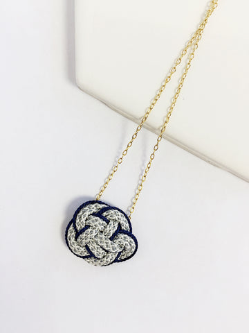Ume Knot Necklace