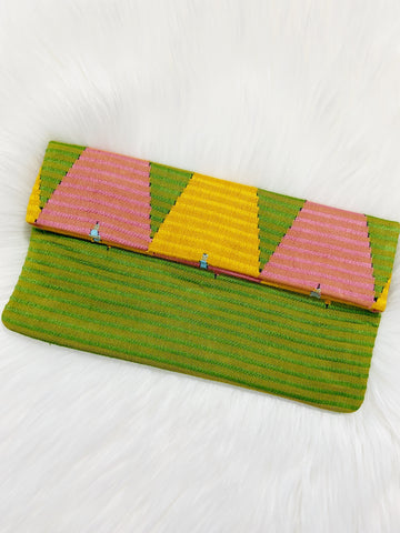 Textile Woven Simple Clutch