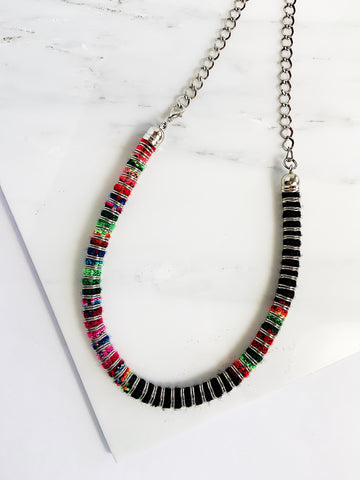 Aguayo Textile Necklace