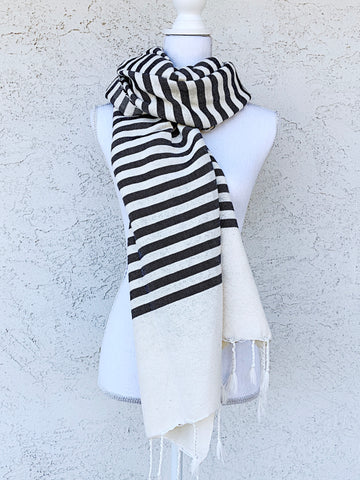 Hand Loomed Cotton Shawl