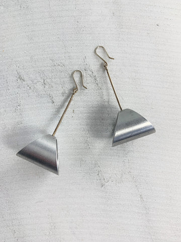 Aluminum Angle Earrings