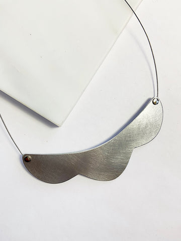 Aluminum Aimi Necklace