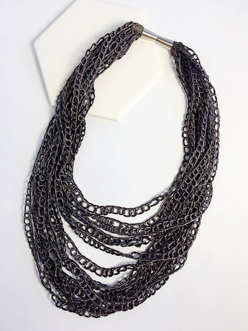 Vegan Silk Chain Necklace