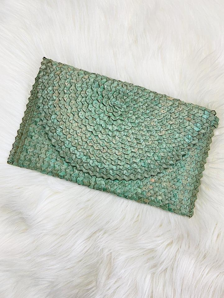 Palm Leaf Clutches