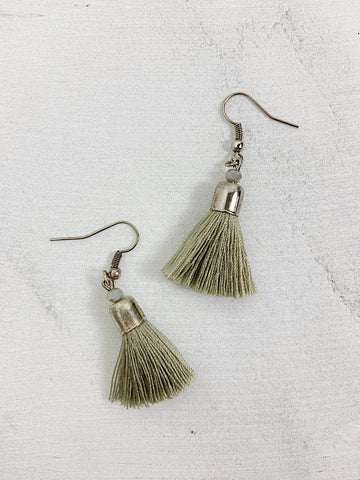 The Luh Tassel Earrings