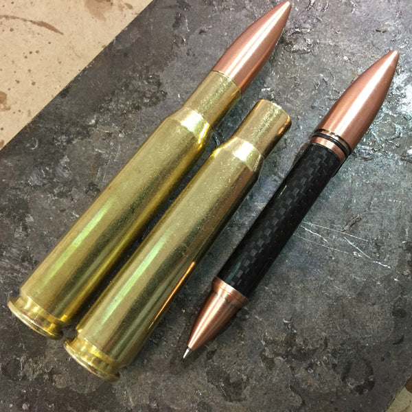 50 Caliber Hidden Desk Pen