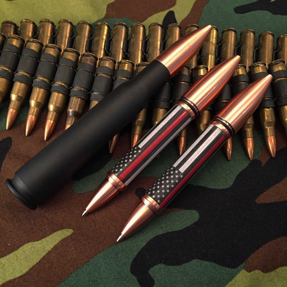 50 Caliber Thin Red Line Pen