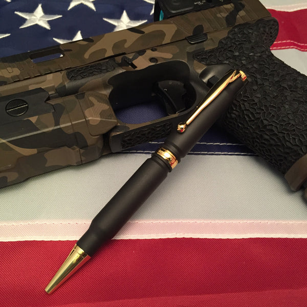 308 Black Cerakoted Pen